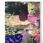 Sin título, 2017. Óleo sobre lienzo 46x38 cm