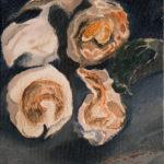 Sin título, 2015. Óleo sobre lienzo. 27 x 22 x 3 cm